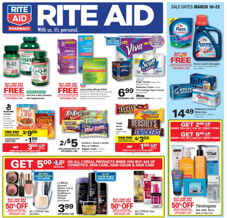 Krazy coupon lady rite aid matchups
