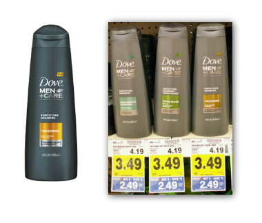 Dove Men+Care Coupon has coupons out for some of their products. Check those items below and you can save $1 off your purchase. Find Dove at your local store in the beauty care aisle! Dove Men+Care $1 Coupon Dove Men+Care Body Wash ( oz or larger), Body and Face Bar(6-bar pack or larger) or Active Clean Shower.