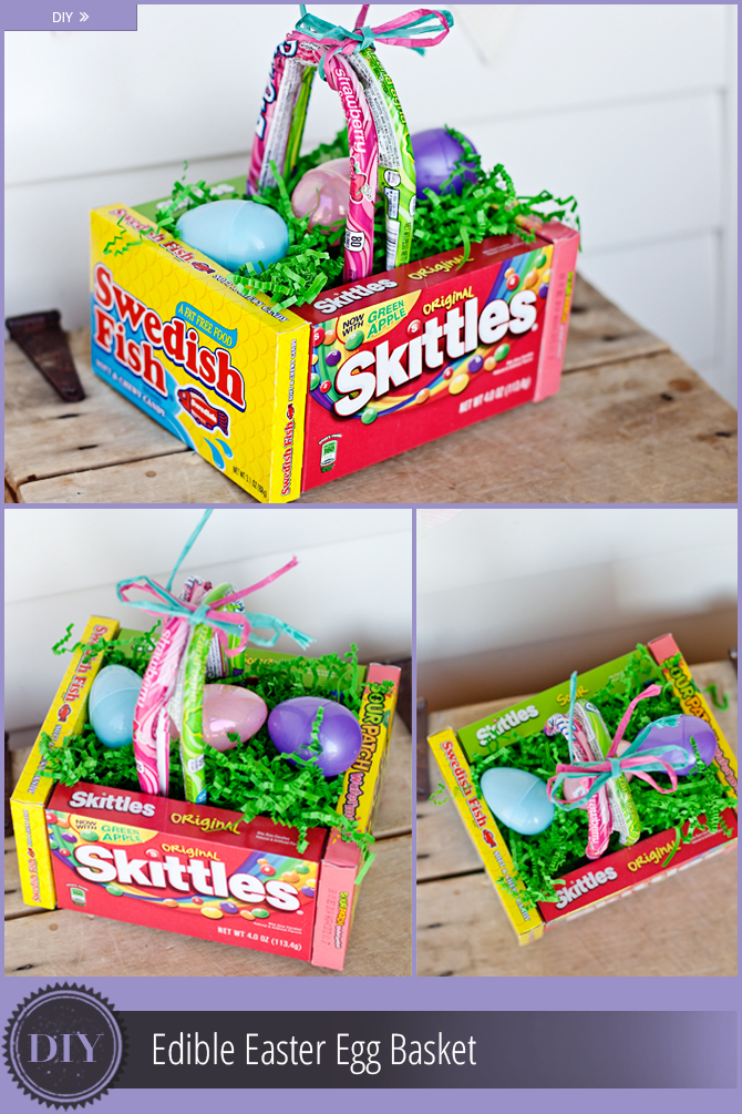 Diy Edible Easter Egg Basket The Krazy Coupon Lady