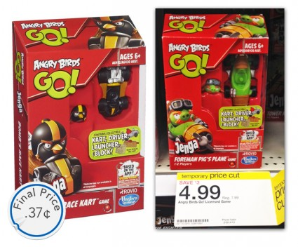 Angry Birds Go! Jenga Target
