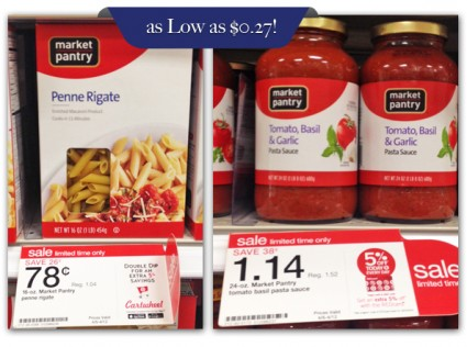 Buy 2 Market Pantry Dry Pasta Noodles, 16 oz $0.78, sale price through ...