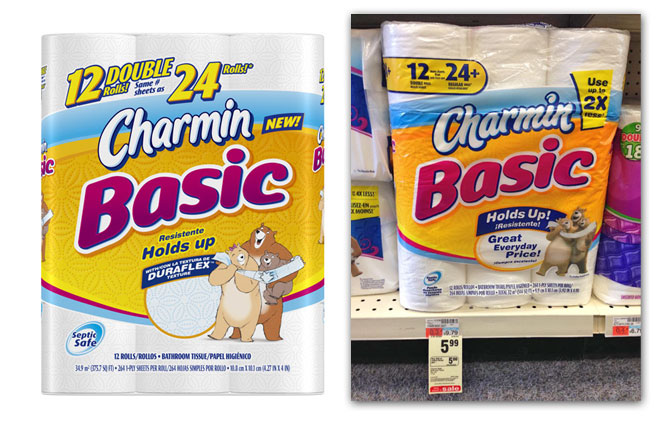 Charmin Basic Bath Tissue, Only $3.88 at CVS! - The Krazy Coupon Lady
