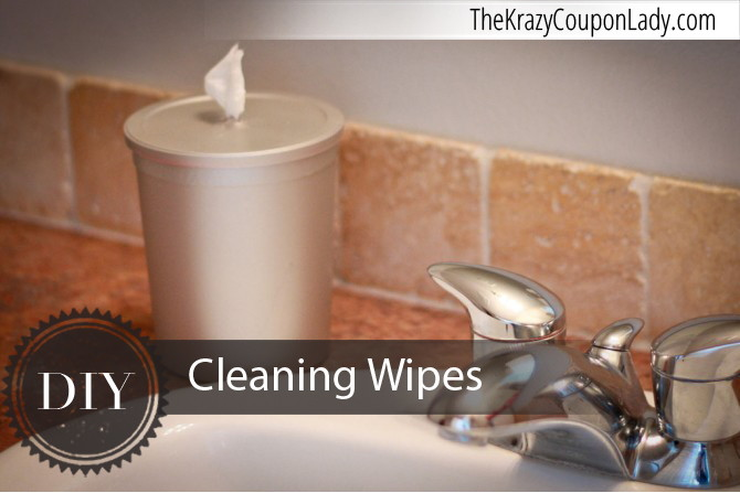 Make Your Own Cleaning Wipes And Wipe Dispenser