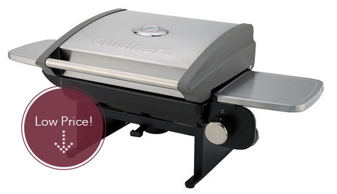 Cuisinart Portable Tabletop Gas Grill, Only $117 Shipped!