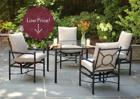 Save up to 40% on Patio Furniture—Shipping is Free!