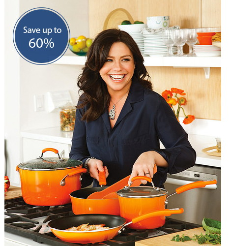 Save up to 60% on Rachael Ray Cookware, Dinnerware and More!