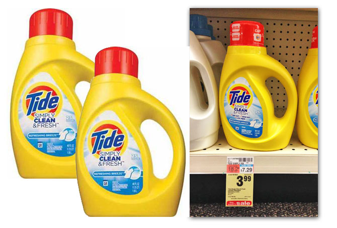 cvs tide simply clean