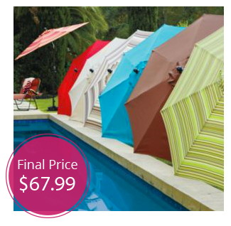 Sonoma 9-ft Patio Umbrella, Only $68 Shipped!