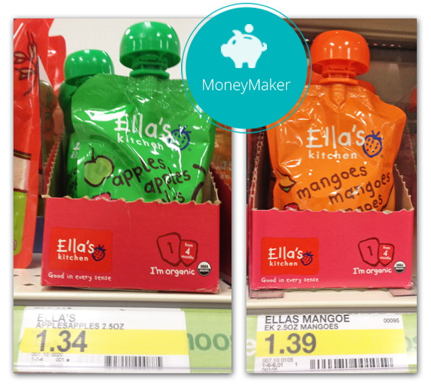 Moneymaker ella s kitchen baby food pouches at target for Ella s kitchen coupons