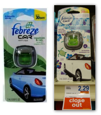 Febreze car layer