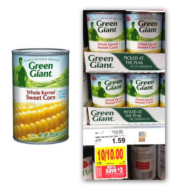 Green giant can coupons 2018