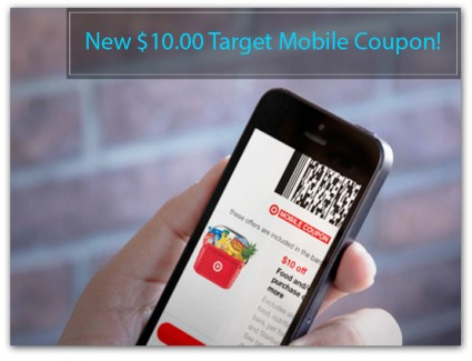 New Target Grocery Mobile COupon