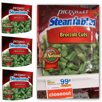 Pictsweet brocolli layer