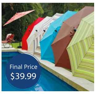 This Sonoma 9ft Crank And Tilt Patio Umbrella, Originally $189.99, Is Now  On Sale For $59.99 At Kohlu0027s! Plus, For A Limited Time, ...