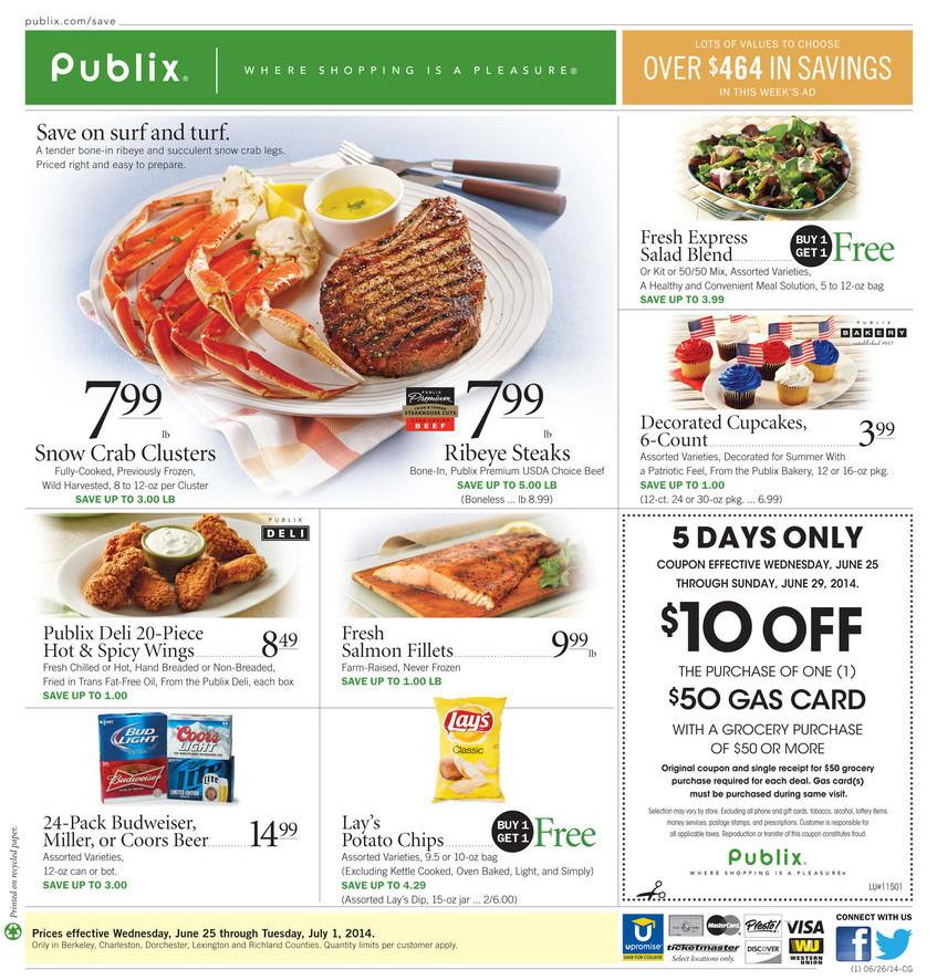 Publix discount coupons