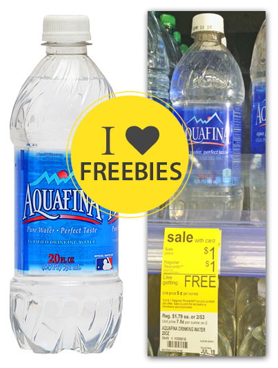 Free Aquafina Bottled Water At Walgreens The Krazy