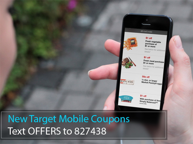 New Target Mobile Coupons