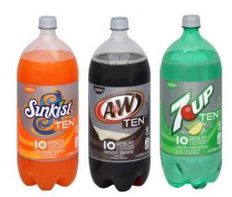 Sunkist A&W 7-Up Ten Coupon