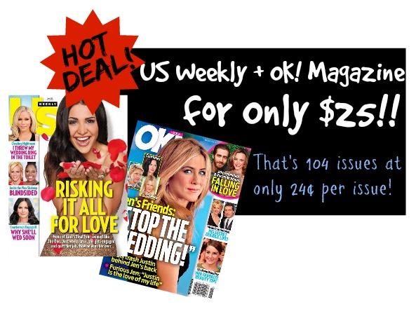 US Weekly OK Deal