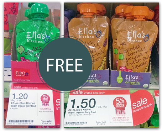 Free Ella S Kitchen Baby Food Pouches At Target