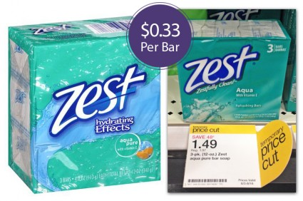 Zest Bar Soap Target
