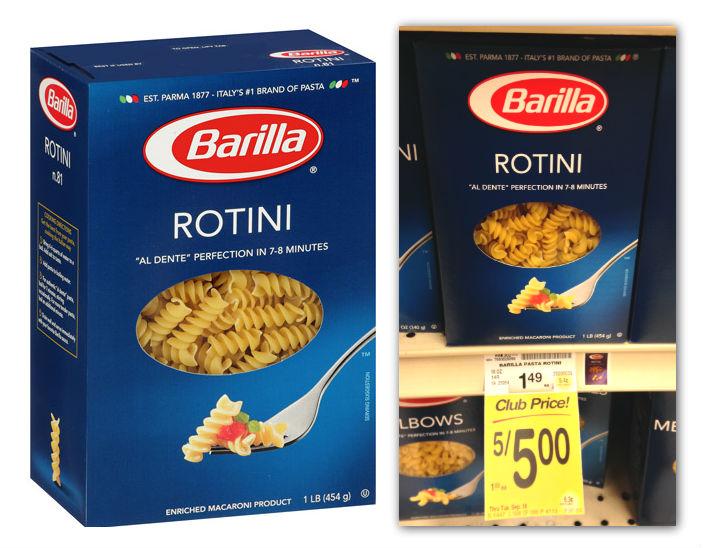 Barilla Pasta Safeway Coupon