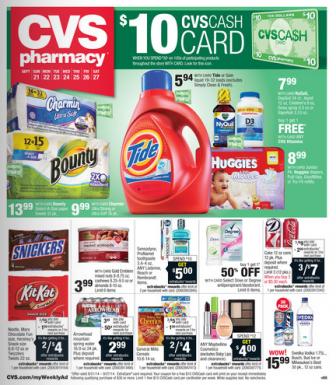 CVS Ad 9-21