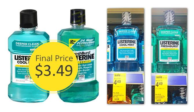 Listerine-Mouthwash-Walgreens-Coupon