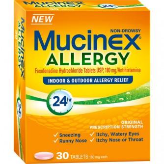 Mucinex Allergy 30 count
