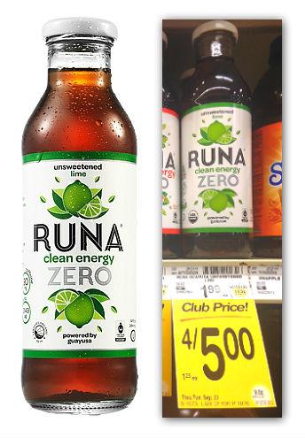 Runa Clean Energy Safeway Coupon