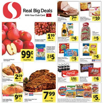 Safeway ad 9.10 coupon