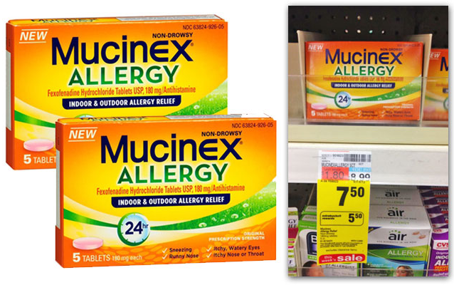 Allergies mucinex