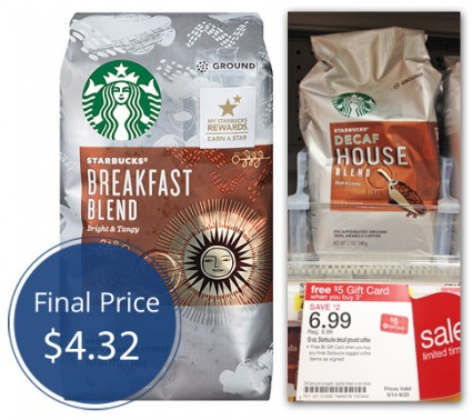 Starbucks Bag COffee Target
