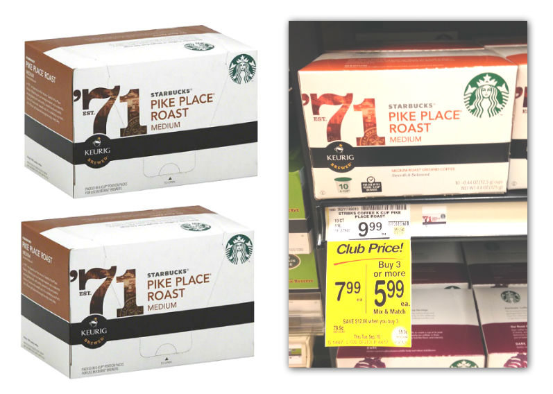 Starbucks K-Cups Coupon