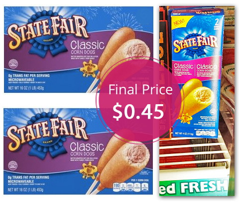 Fair Corn Dogs Corn Dogs For Only $0.45