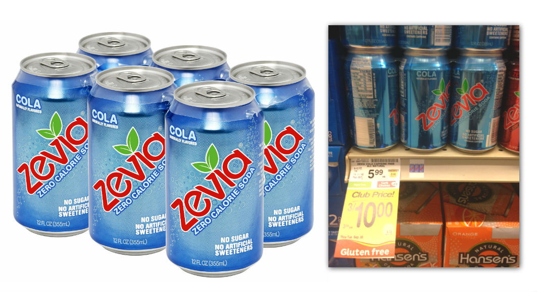 Zevia Soda Safeway Coupon