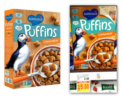 Barbaras Puffins Cereal