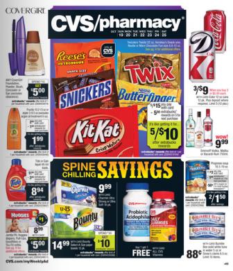 CVS Ad 10-25