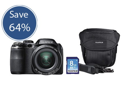 Save $210 on a Fujifilm Digital Camera Bundle!
