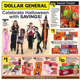 Dollar General Ad 10-6