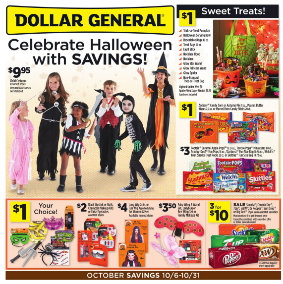 Dollar General Coupon Deals: Week of 10/19
