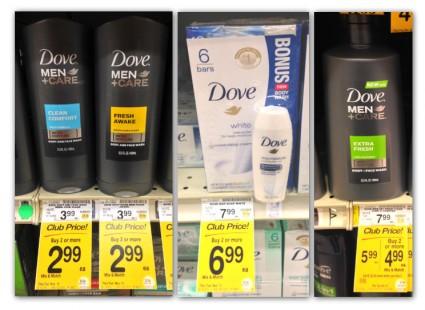 Dove Sale Safeway Coupon