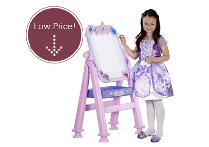 Save 40% on a Sofia the First Art Easel and Vanity!