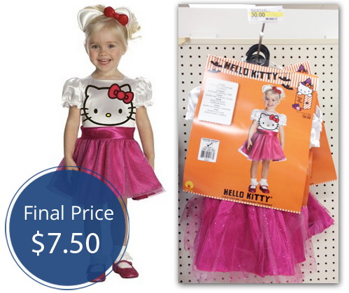 hello kitty costumes only 750 at target the krazy coupon lady - Halloween Hello Kitty Costume
