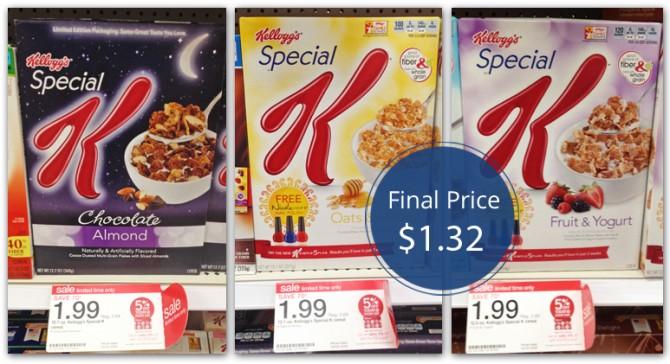 Kellogg's Special K Target