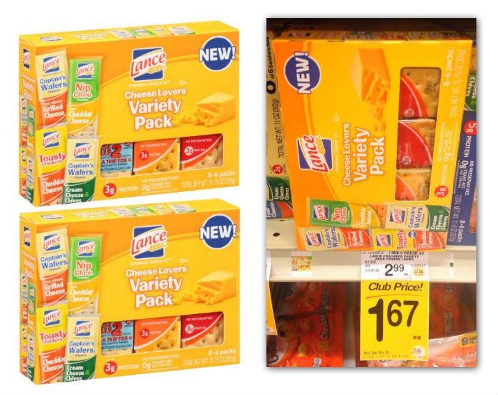 Lance Crackers Safeway Coupon