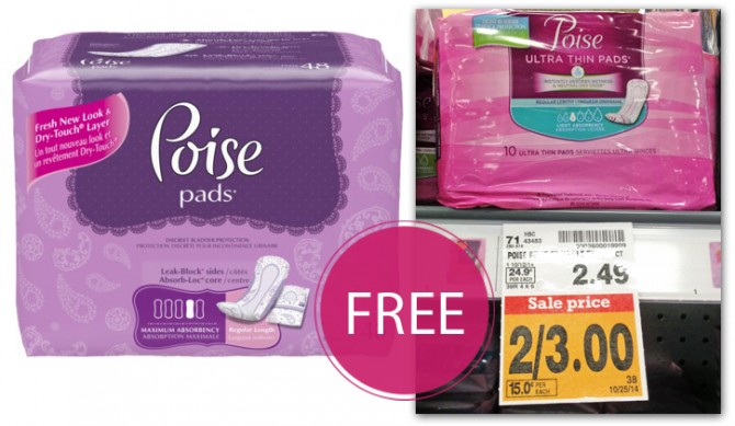 Poise Pads Fred Meyer