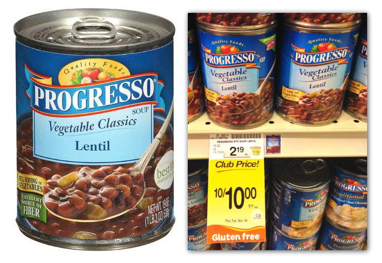 Progresso Soup Safeway Coupon