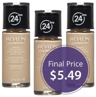 Revlon ColorStay Foundation, Only $5.49 at Walgreens! - The Krazy ...