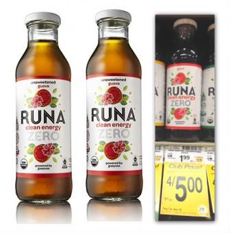 Runa Bottles Safeway Coupon